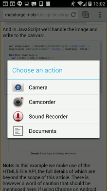 HTML5 for the Mobile Web: Canvas - mobiForge