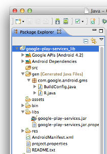 Eclipse package explorer