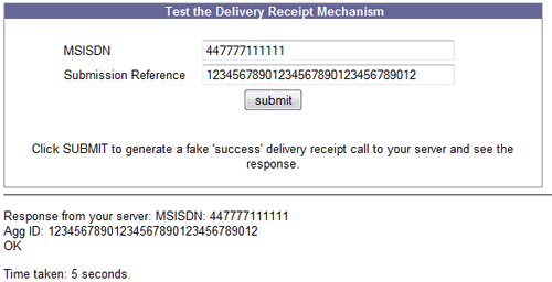 Handling SMS delivery receipts mobiForge – Delivery Receipt