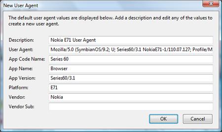 Browser Nokia 110