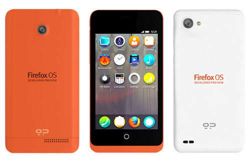 Firefox OS Developer Preview devices from Geeksphone