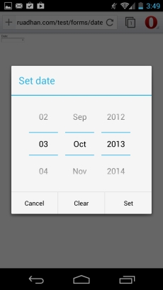 Html5 For The Mobile Web Forms And Input Types Mobiforge