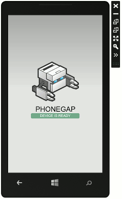 Tips and tricks for developing phonegap apps for windows for Phonegap project template