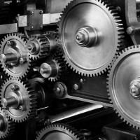 Machinery Mechanical Cogs Gears Machine