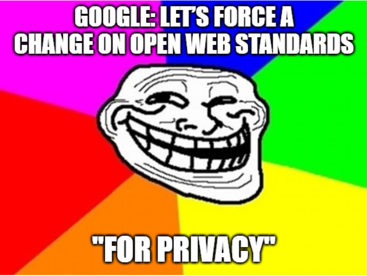 User-Agent meme: Lets force a change in open web standards